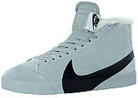 Мужские зимние кроссовки Nike Blazer Mid Grey/Black