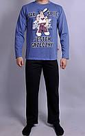 Мужская пижама  Natural Club 089  XL Синий