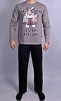 Мужская пижама  Natural Club 089  XL Серый