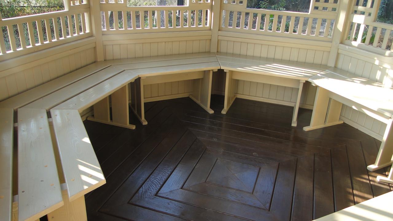 Комплект мебели в беседку - Wood Luxury в Киеве
