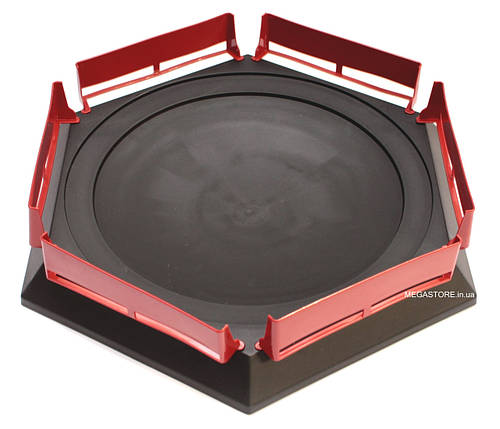 Арена Бейблэйд (Бейблейд) Arena Beyblade Burst Combat Gyro Disk Черная, фото 2