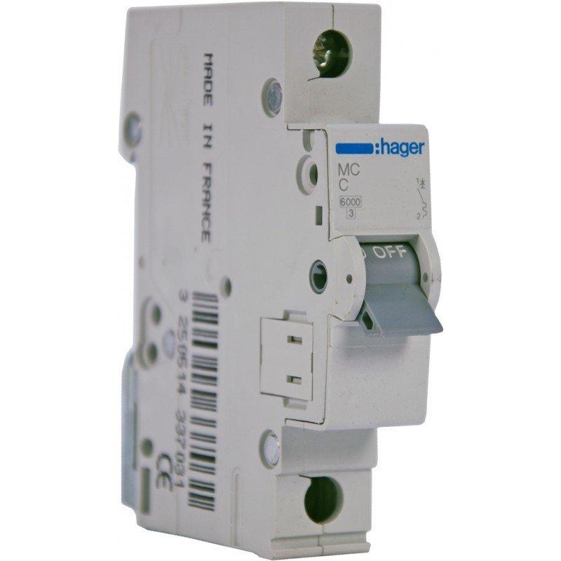 Автоматический выключатель HAGER MC110 1п C10А
