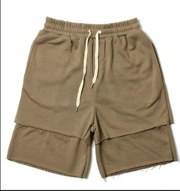Светлые Летние мужские гетто рваные шорты Nelly Kenny West, фото 2