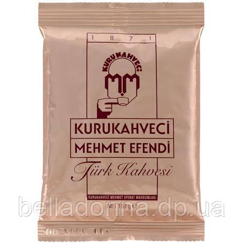Турецький кава мелена Mehmet Efendi Kurukahveci 100 г