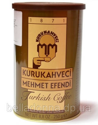 Турецкий кофе молотый Mehmet Efendi Kurukahveci 250 г