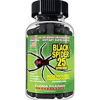 Cloma Pharma, Жиросжигатель Black Spider 25 Ephedra, 100 капсул