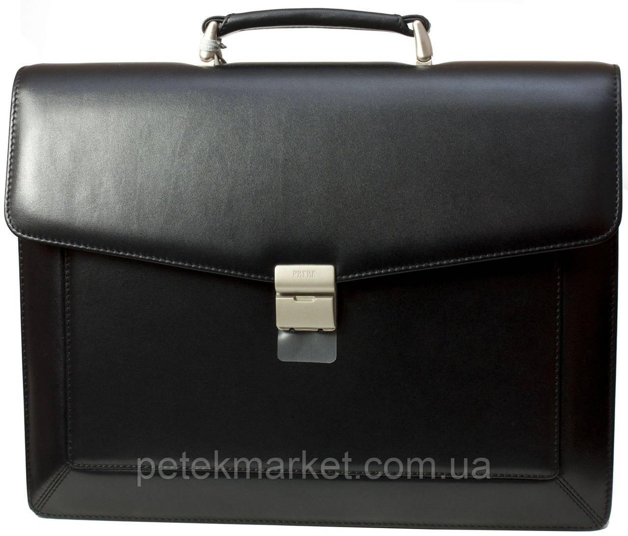 Кожаный портфель Petek 891/3