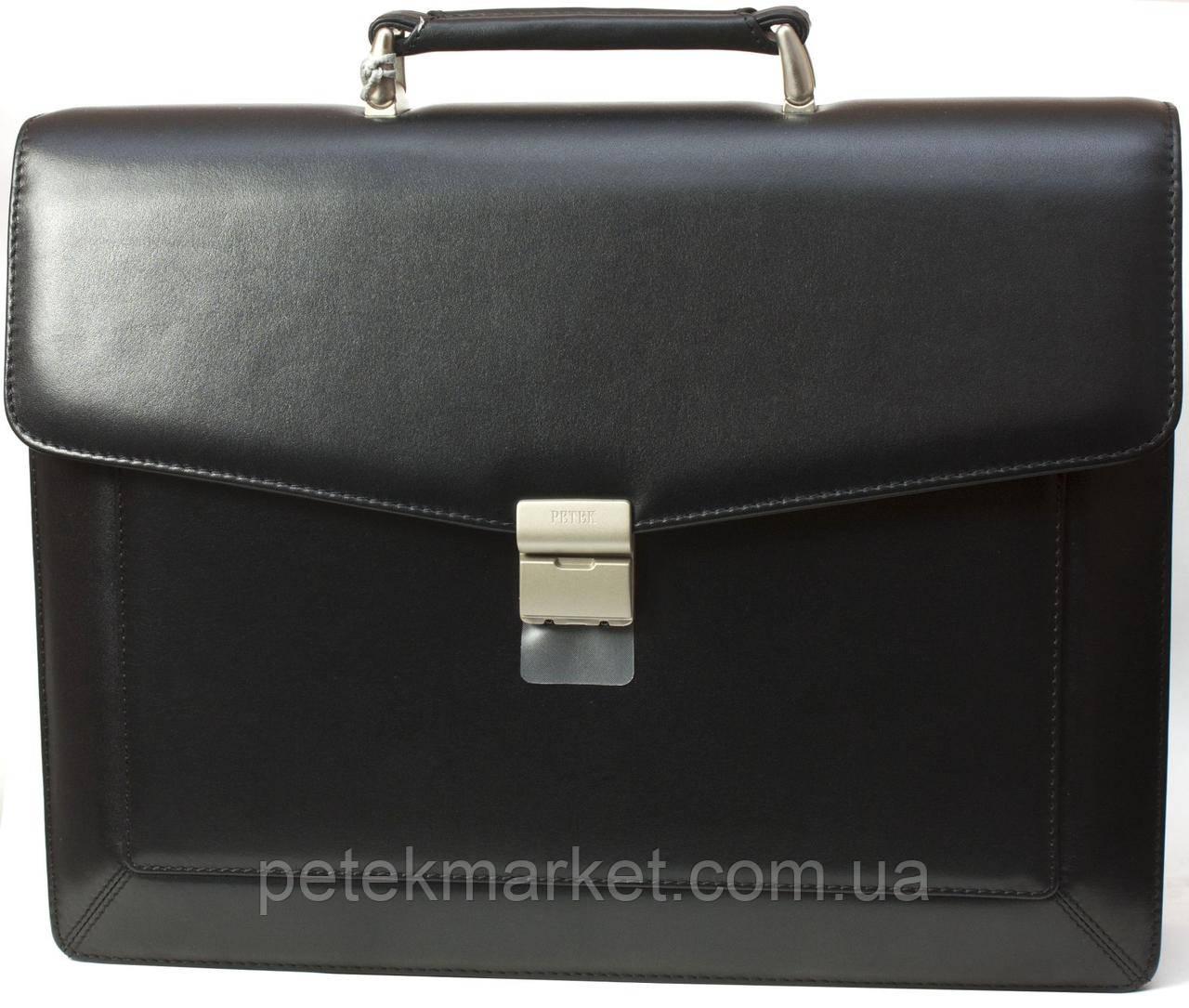 Кожаный портфель Petek 891/2-000-01