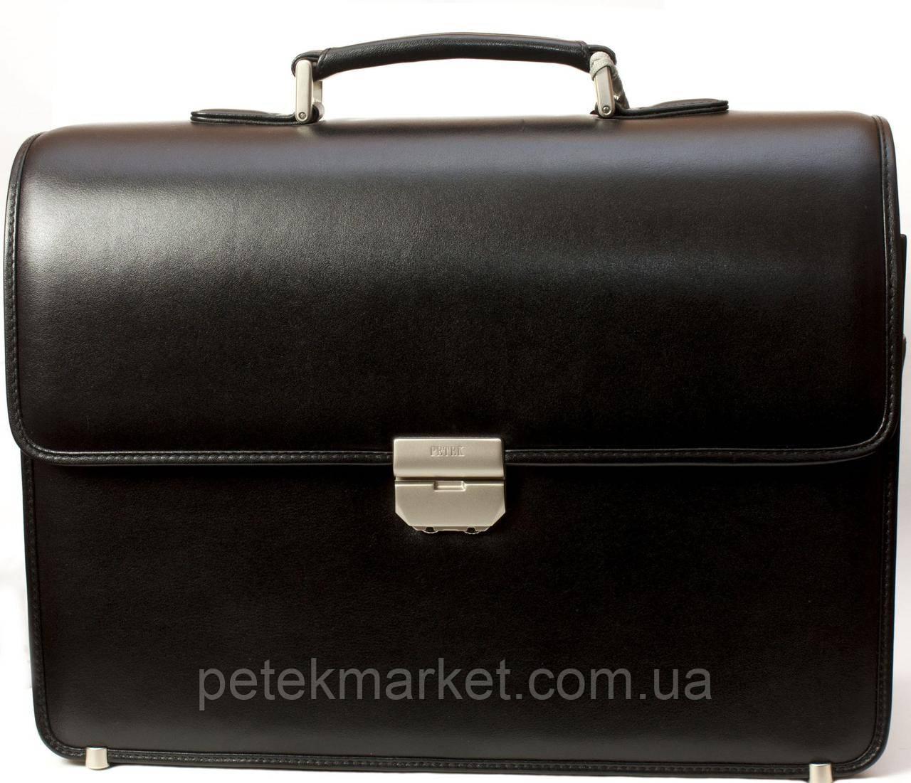 Портфель деловой PETEK 841-000-01 Черный (841-000-01)