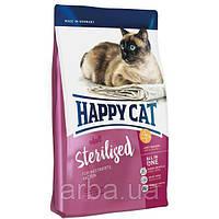 Happy Cat Adult Sterilised - сухой корм для взрослых стерилизованных  кошек и кастрированных котов