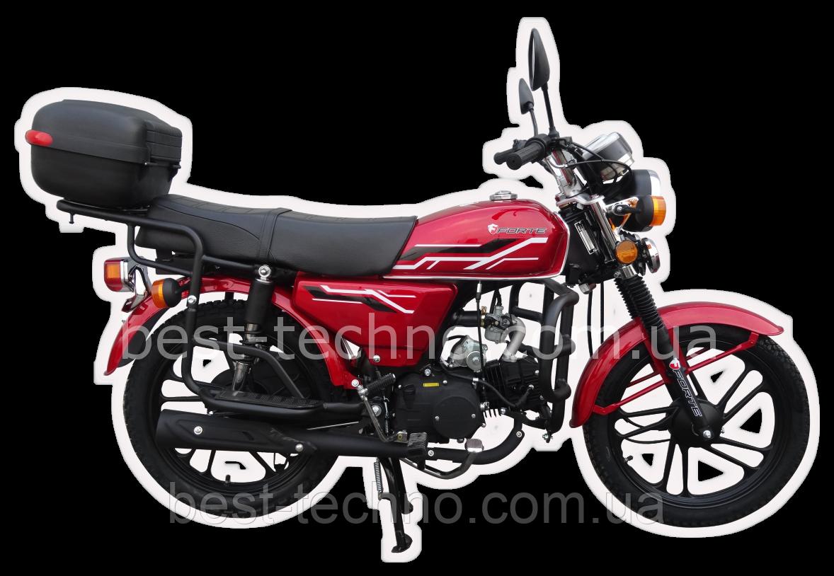Мотоцикл FORTE ALFA FT110-2  (Форте Альфа 110 куб. см.)