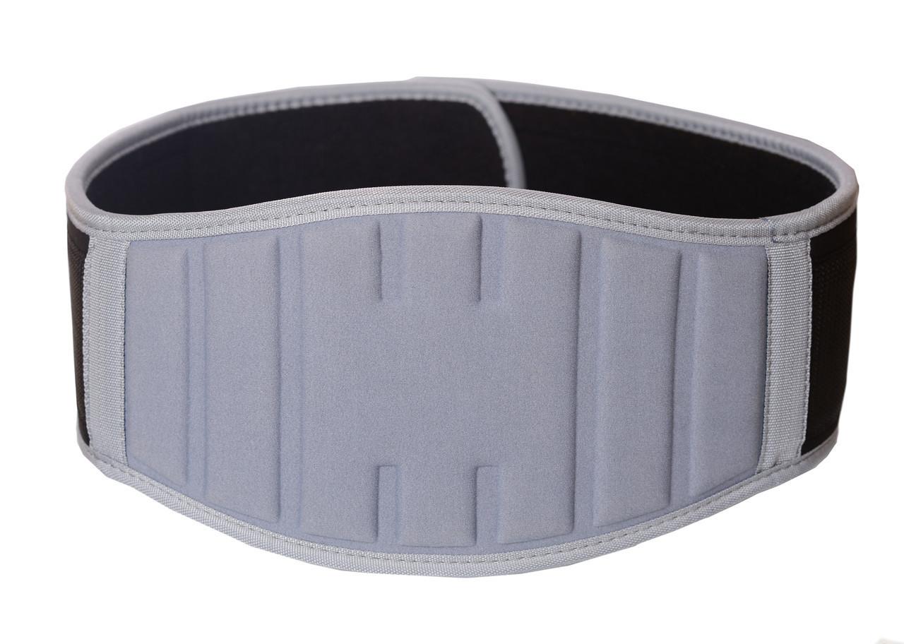 Пояс для тяжелой атлетики PowerPlay 5425 серый (Неопрен) L