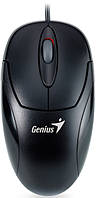 Мышка оптическая GENIUS XSCROLL USB BLACK
