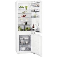 Встраиваемый холодильник с морозильной камерой AEG SCB61821LF, фото 1