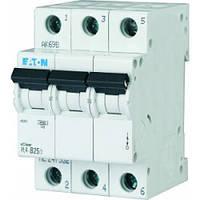 Автоматический выключатель Eaton PL4-C25/3, фото 1