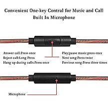 Наушники-вкладыши Kicoeoy проводные с микрофоном, фото 3
