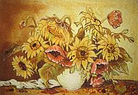 Картина из янтаря. Панно 17