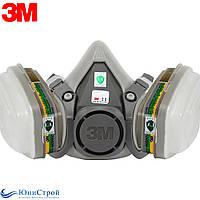 Респиратор полумаска комплект 3М оригинал фильтр 6059 аммиак