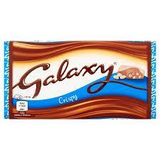 Шоколад Galaxy Crispy, 102 г