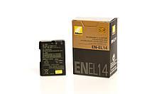 Аккумулятор Nikon EN-EL14 (D3100, D3200, D5100, D5200, D5300, D5500, D5600, Df, P7000, P7100), фото 1