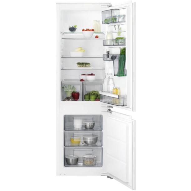 Встраиваемый холодильник с морозильной камерой AEG SCB61824LF