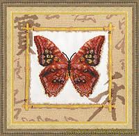 Набор для вышивания бисером Золотое Руно БС-002 Морфо амфитрион