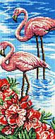 Набор для вышивания бисером МП Студия БГ-181 Фламинго