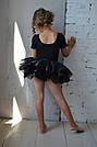 Купальник для танцев с юбочкой из органзы, фото 2