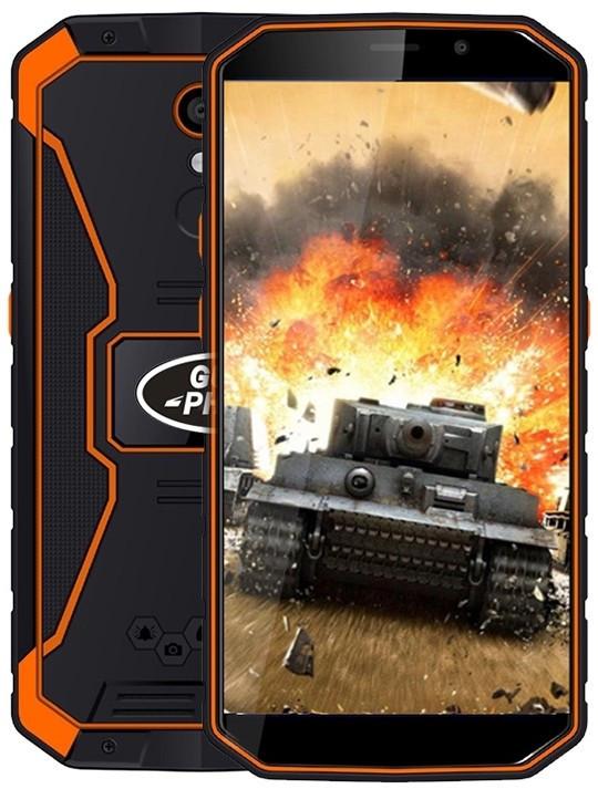 Защищенный смартфон Land Rover XP9800 (Guophone XP9800) 2/16gb Orange MediaTek MT6739 6500 мАч