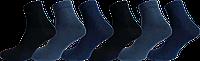 """Чоловічі шкарпетки бавовна 100% однотон, мікс """"lomani"""""""