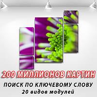 Ваше фото на холсте, на ПВХ ткани, 85x85 см., (40x20-2/18х20-2/65x40)