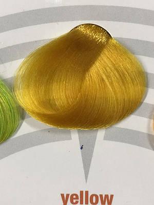 BBCos Краска для волос прямого окрашивания COLOR TRIBE, 100ml Yellow (жёлтый)