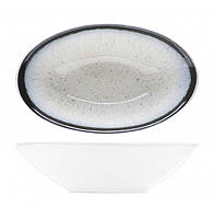 Салатник овальный - 14 х 9 х 4 см, Белый (Cosy&Trendy) Andromeda