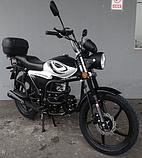 Мотоцикл FORTE ALFA NEW FT125-K9A black (черный)  (Форте Альфа нью 125 куб. см.), фото 3