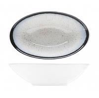 Салатник овальный - 12 х 7.5 х 3 см, Белый (Cosy&Trendy) Andromeda