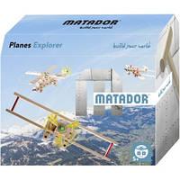 Конструктор тематический из дерева Planes Explorer производство Австрия для детей от 5 лет