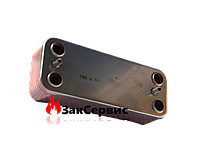 Теплообменник 16 пластин ГВС 28 кВт Beretta City, Mynute, Super Exclusive R8037