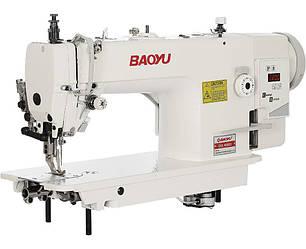 Baoyu BML-0303D, промышленная швейная машина с встроенным сервомотором и двойным транспортом материала
