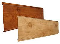 Металлический сайдинг доска под дерево(принт)