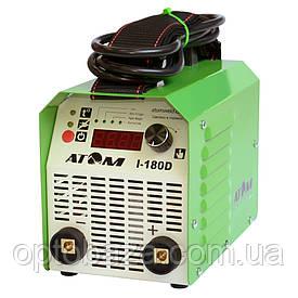 Сварочный инвертор Атом I-180D без кабелей, без байонетных штекеров