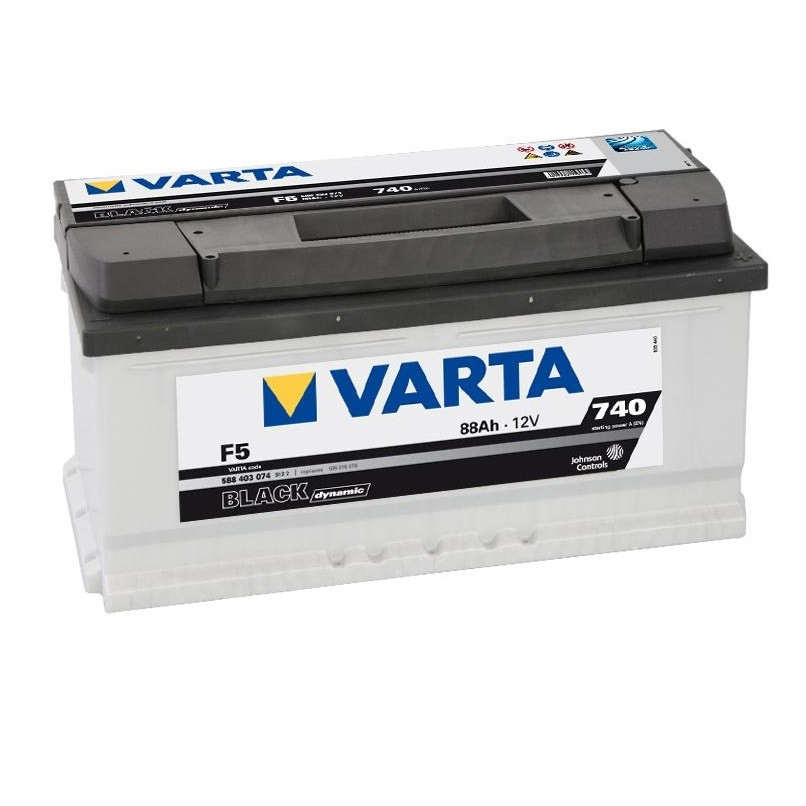 Акумулятор VARTA 88Ач Black Dynamic F5 (0)