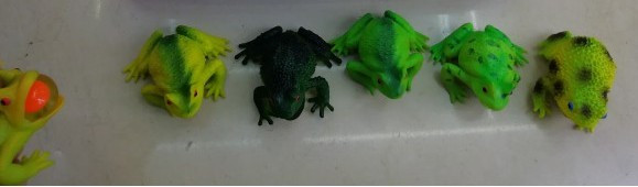 Лизун-жаба, Squishy 6.5 см, № 8035