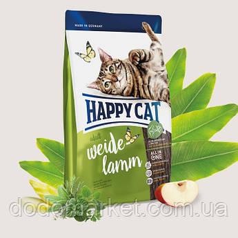 Сухой корм для кошек Happy Cat Supreme Adult Пастбищный ягненок 0.3 кг