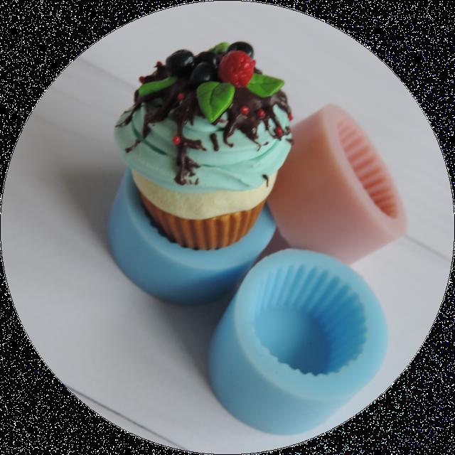 Силиконовые формы сладостей для глины