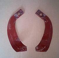 Нож фрезы минитрактора Т225 комплект 2 шт