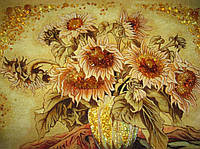 Картина из янтаря. Панно 24