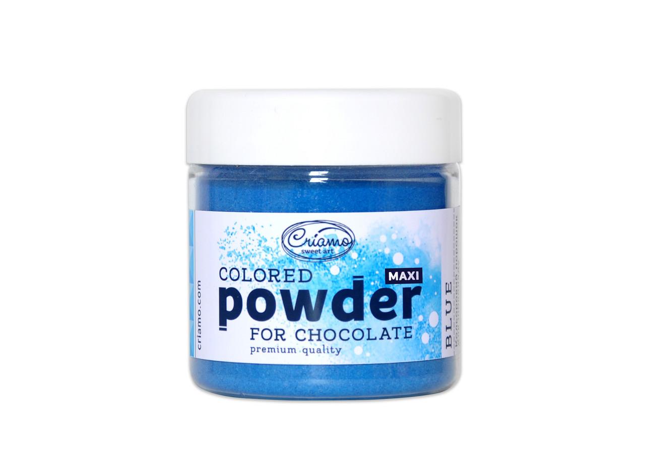 "Сухая краска для шоколада и какао-масла ""Blue"" 100 г. ТМ ""Criamo"""