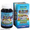 Nature's Plus Animal Parade Kids Immune Booster Berry витамины для детей витаминный минеральный комплекс