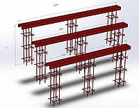 Закладные детали для откатных (консольных) ворот