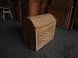 Скрині плетені з лози